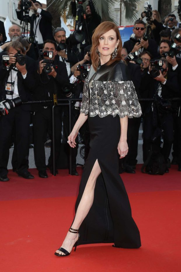 Julianne Moore - 'Les Miserables' Screening at 2019 Cannes Film Festival in Cannes