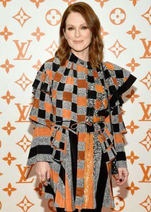 Julianne Moore - Louis Vuitton x Grace Coddington Event in NYC