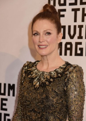 Julianne Moore - Museum of The Moving Image honors Julianne Moore in NYC