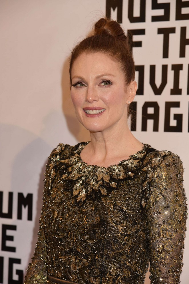Julianne Moore – Museum of The Moving Image honors Julianne Moore in NYC