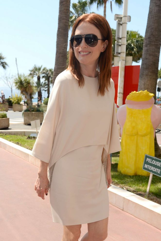 Julianne Moore out in Cannes