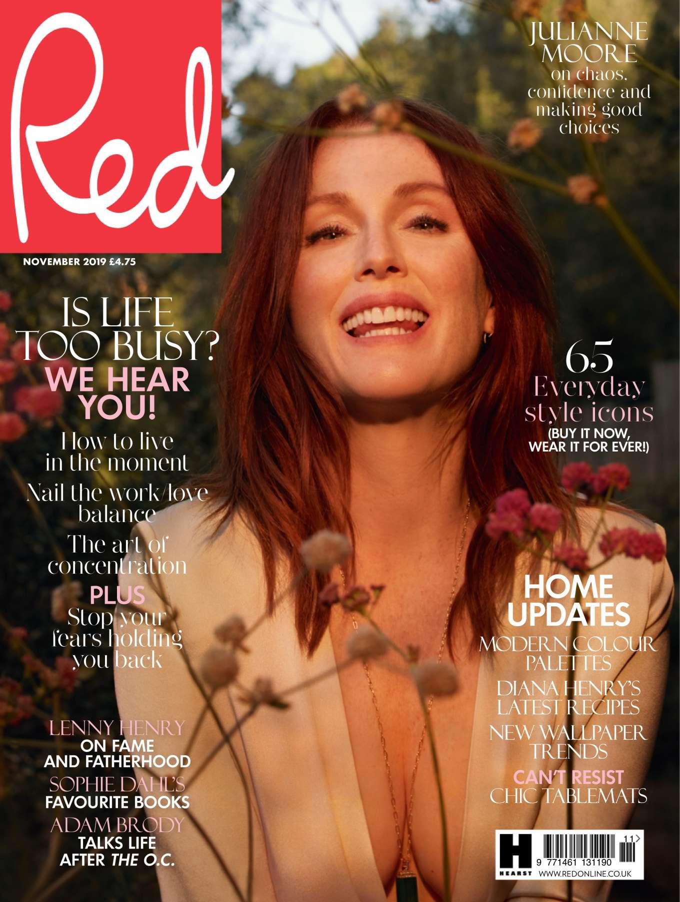 Julianne Moore 2019 : Julianne Moore – Red UK 2019-02