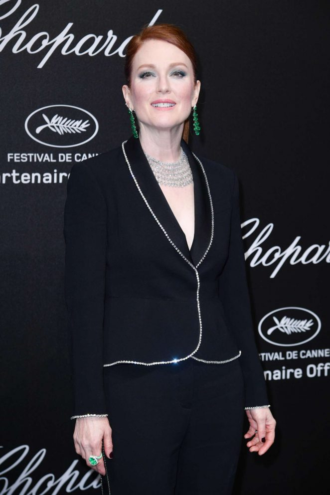 Julianne Moore - Secret Chopard Party at 208 Cannes Film Festival
