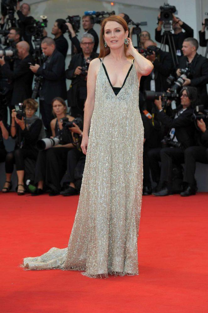 Julianne Moore: Suburbicon premiere 2017 Venice Film Festival in Italy-15