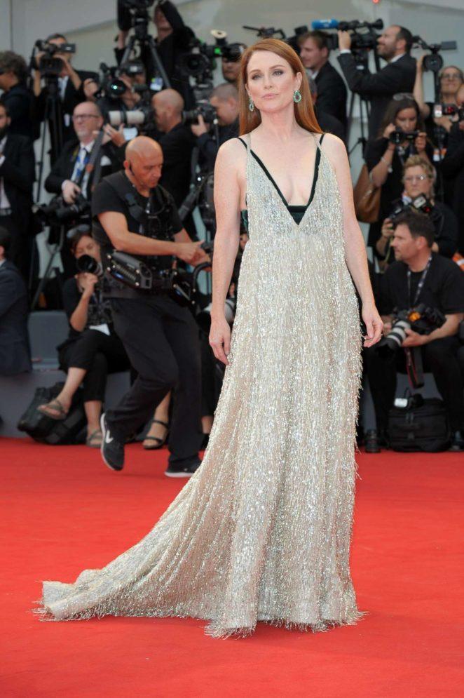 Julianne Moore: Suburbicon premiere 2017 Venice Film Festival in Italy-22