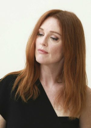 Julianne Moore - Suburbicon press conference in Italy