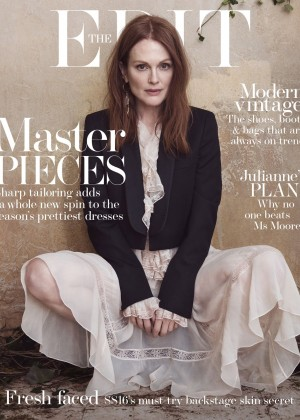 Julianne Moore - The Edit Magazine (May 2016)