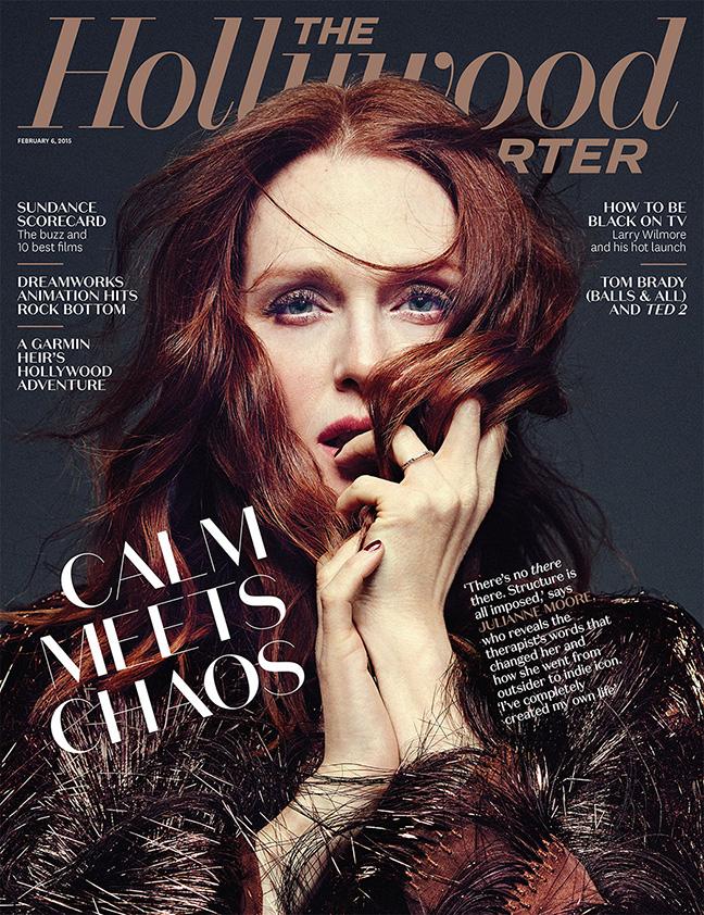 Julianne Moore 2015 : Julianne Moore: The Hollywood Reporter 2015 -03