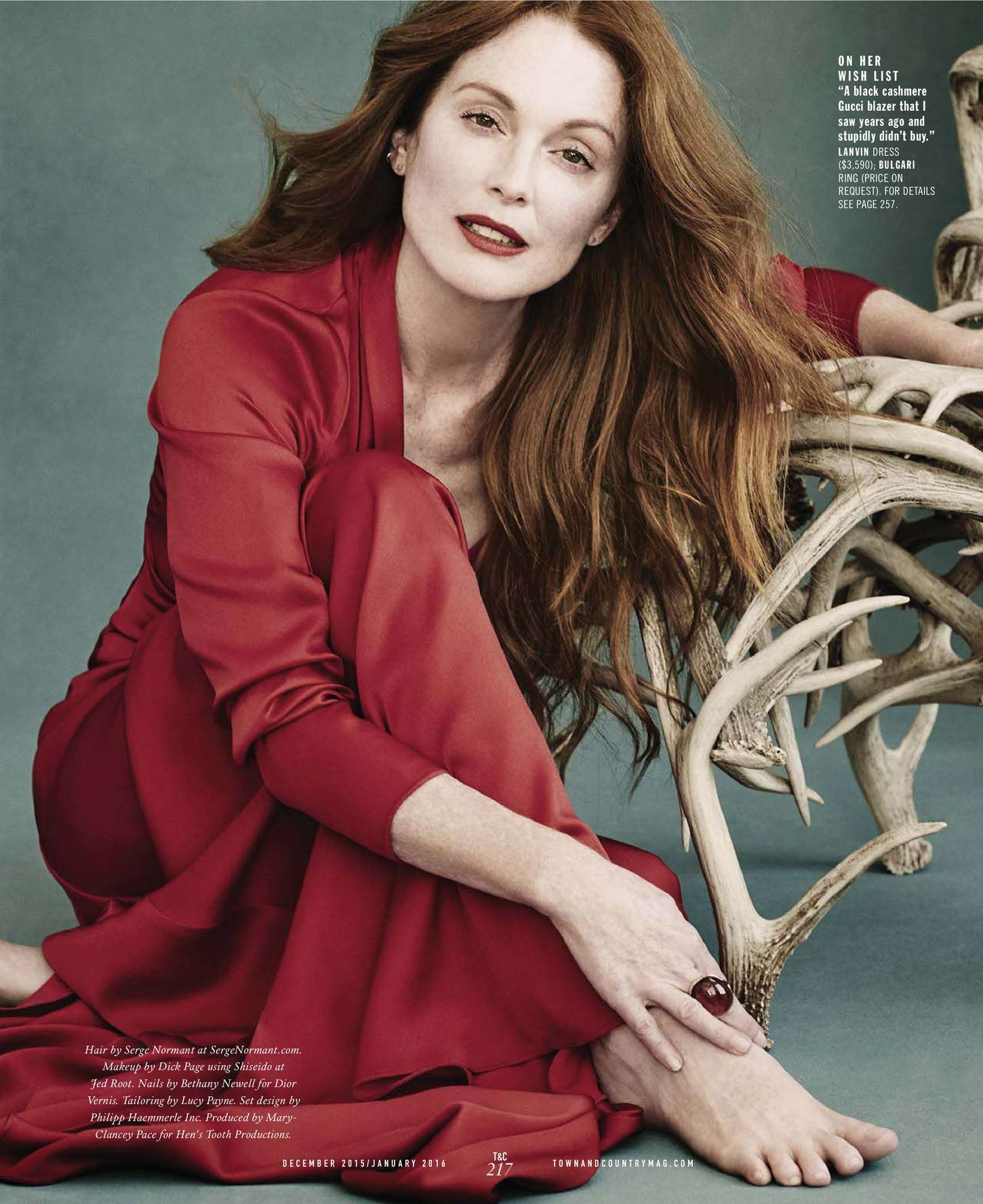 Julianne Moore 2015 : Julianne Moore: Town and Country US 2015 -05