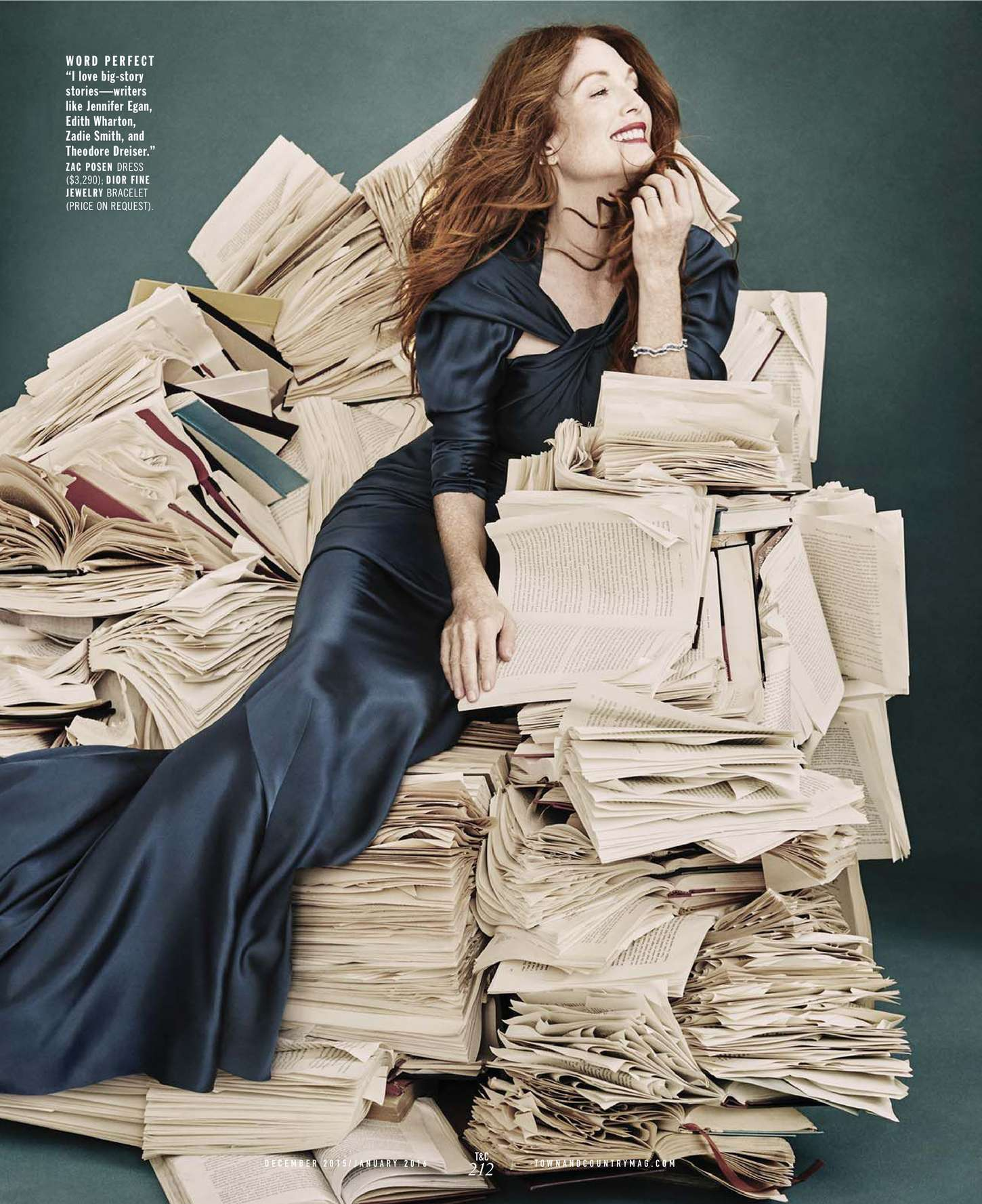 Julianne Moore 2015 : Julianne Moore: Town and Country US 2015 -06