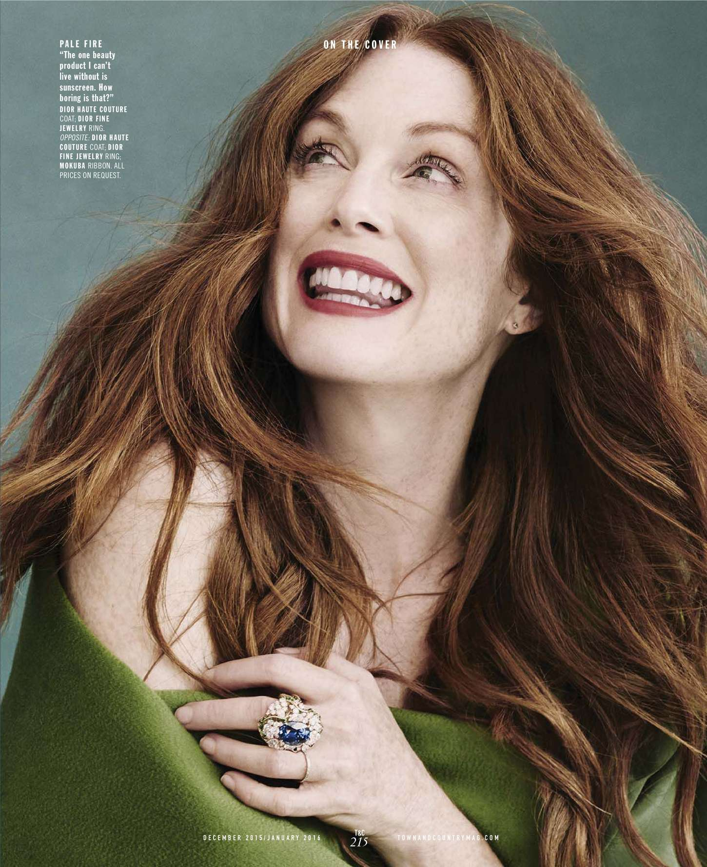 Julianne Moore 2015 : Julianne Moore: Town and Country US 2015 -07