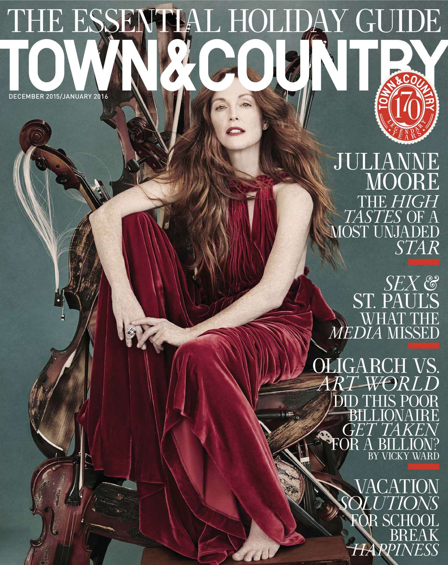 Julianne Moore 2015 : Julianne Moore: Town and Country US 2015 -08