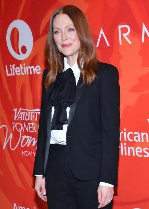 Julianne Moore - Variety's Power Of Women New York 2016 in NY