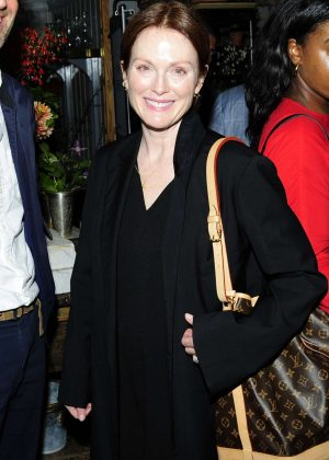 Julianne Moore - Wendy Goodman Celebrates The Release Of Her New Book 'May I Come In?' in NYC