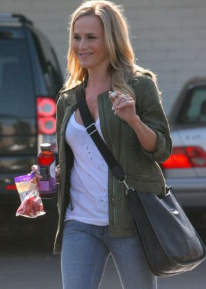 Julie Benz at Bristol Farms in Beverly Hills