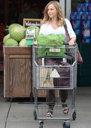 Julie Benz at Bristol Farms -13