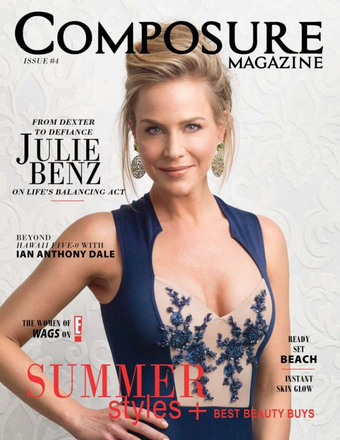 Julie Benz - Composure Magazine 2015