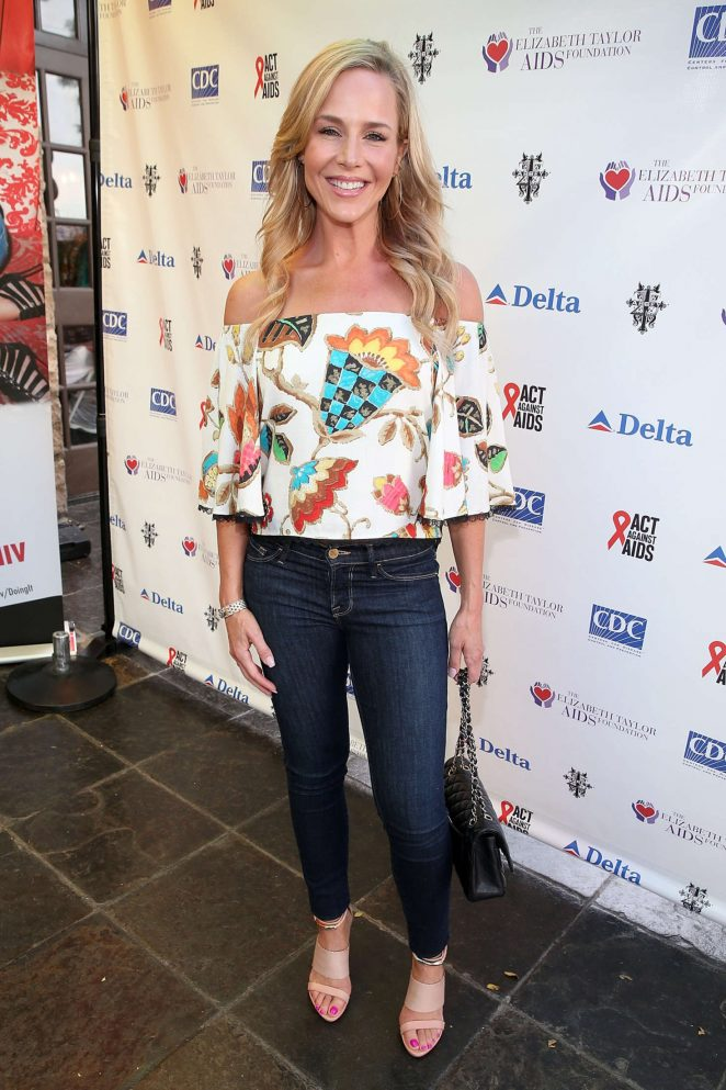 Julie Benz - Elizabeth Taylor AIDS Foundation Co-hosts National HIV testing Day in West Hollywood