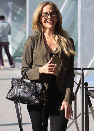 Julie Benz - Out and about in Beverly Hills