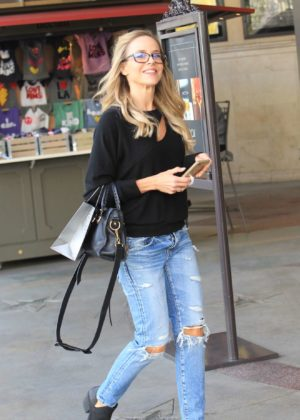 Julie Benz - Shopping Candids in Hollywood
