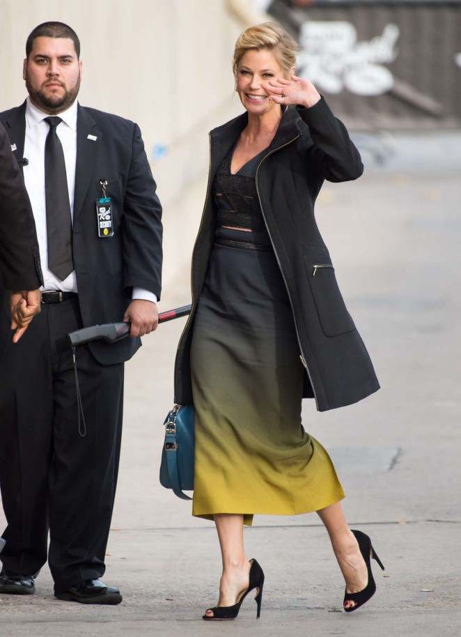 Julie Bowen - Arriving at 'Jimmy Kimmel Live' in Hollywood
