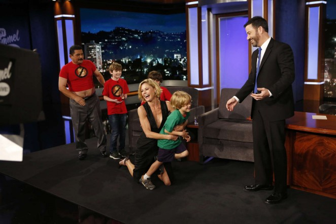 Julie Bowen: Visits Jimmy Kimmel Live -03