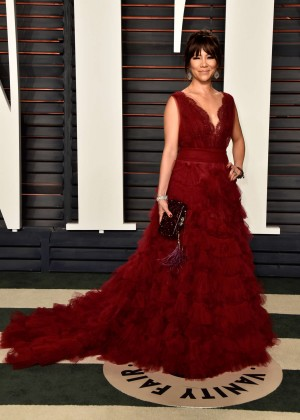 Julie Chen - 2016 Vanity Fair Oscar Party in Beverly Hills