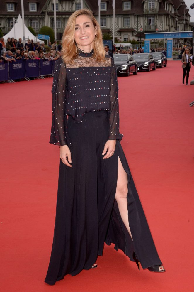 Julie Gayet - 'The Infiltrator' Premiere at 42th Deauville US Film Festival in Deauville