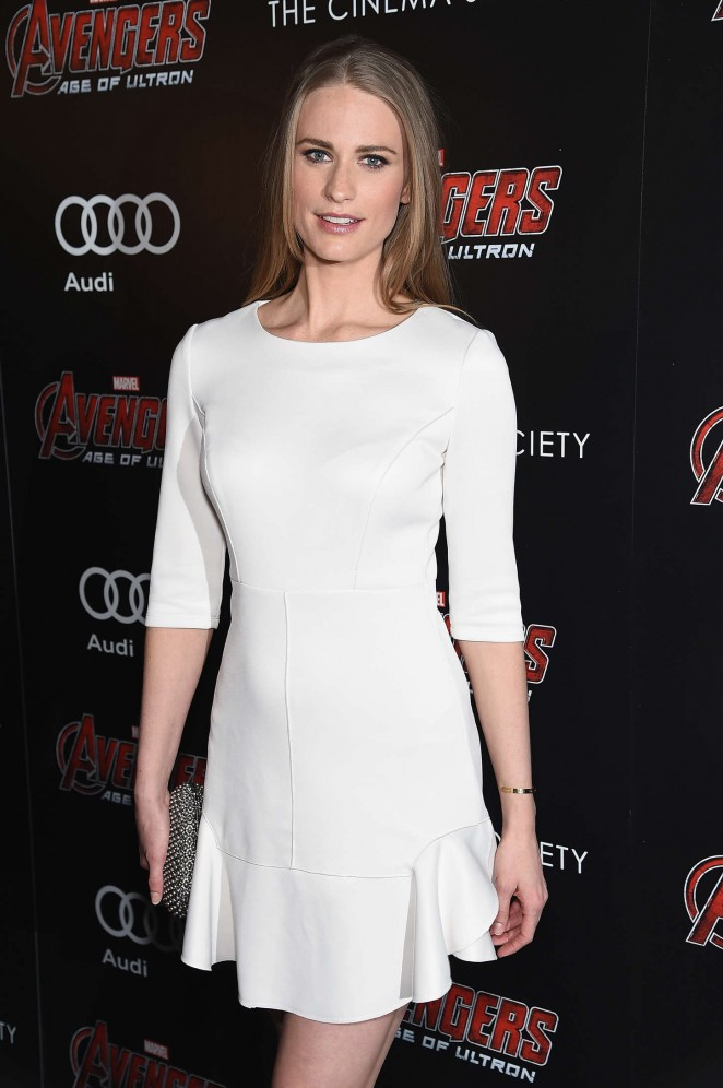 Julie Henderson - 'Avengers: Age of Ultron' Screening in NYC