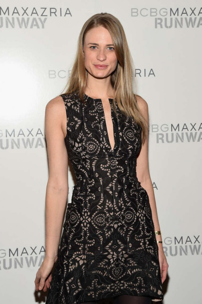 Julie Henderson - BCBGMAXAZRIA Fashion Show 2015 in NYC