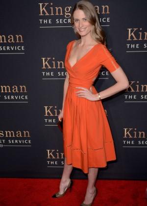 """Julie Henderson - """"Kingsman: The Secret Service"""" Premiere in NYC"""