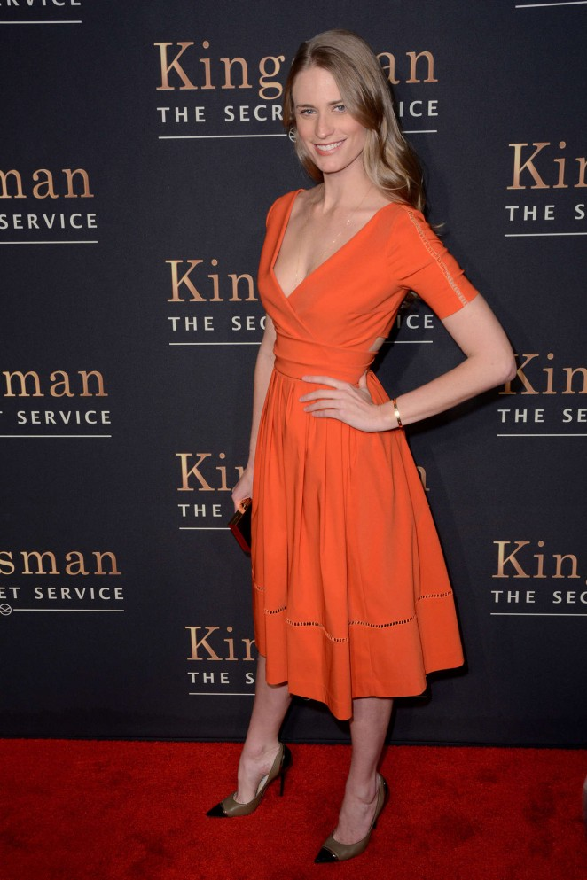 "Julie Henderson - ""Kingsman: The Secret Service"" Premiere in NYC"