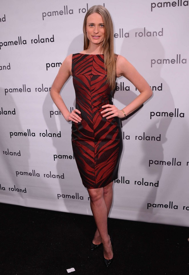 Julie Henderson - Pamella Roland Fashion Show 2015 in NYC