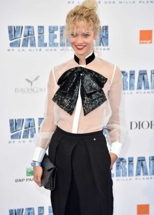 Julie Ordon - 'Valerian And The City Of A Thousand Planets' Premiere in Paris