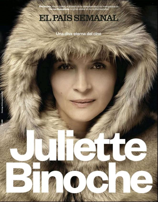 Juliette Binoche - El Pais Semanal Magazine (January 2015)