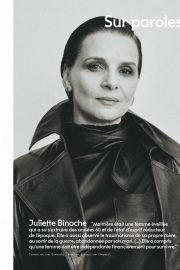 Juliette Binoche - Marie Claire France Magazine (April 2020)