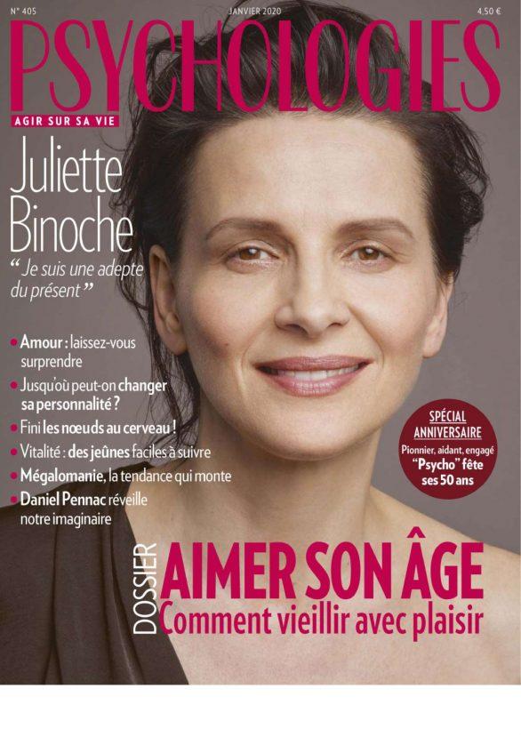 Juliette Binoche - Psychologies France Magazine (January 2020)