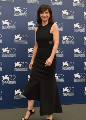Juliette Binoche - 'The Wait' Photocall at 72nd Venice Film Festival
