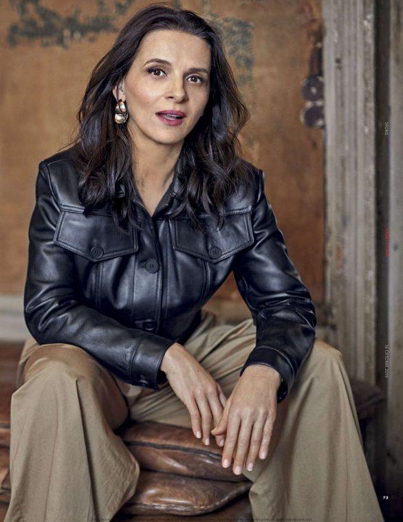 Juliette Binoche - Vanity Fair Italy Magazine (October 2019)