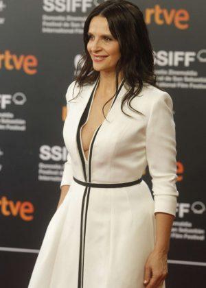 Juliette Binoche - 'Vision' Premiere at 2018 San Sebastian Film Festival