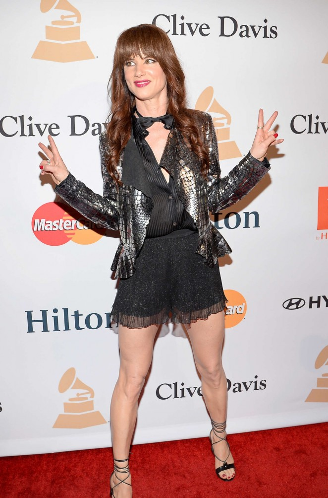 Juliette Lewis - 2016 Pre Grammy Gala and Salute to Industry Icons with Clive Davis in LA