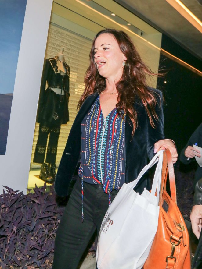 Juliette Lewis at De Re Gallery in West Hollywood