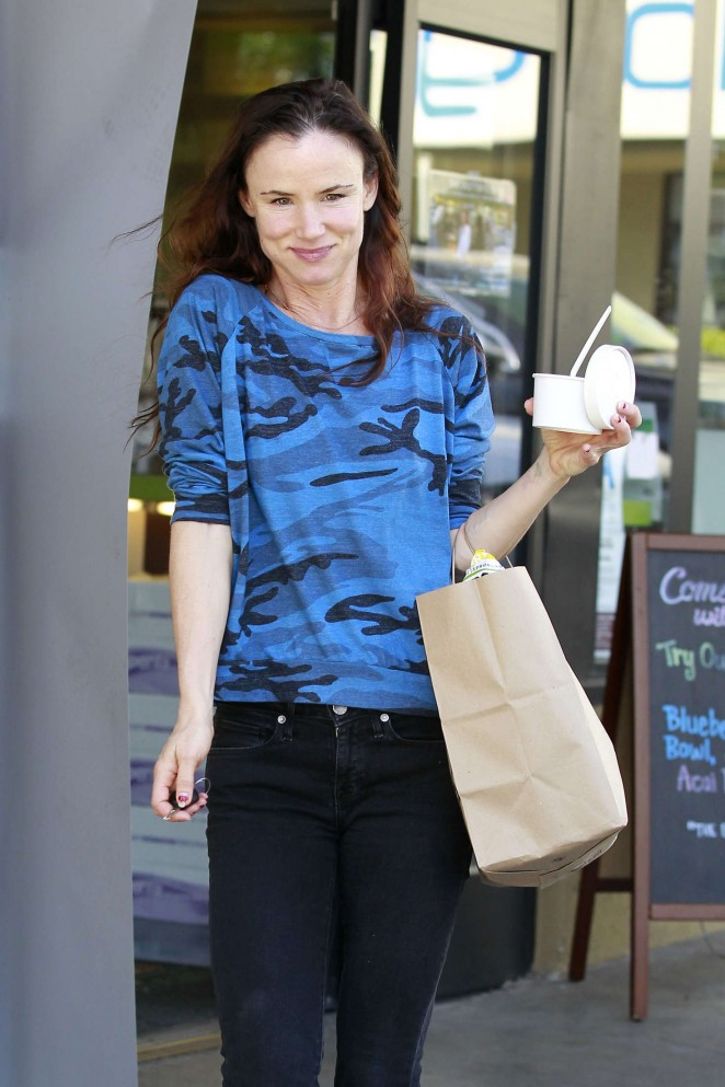 Juliette Lewis at Earthbar in West Hollywood