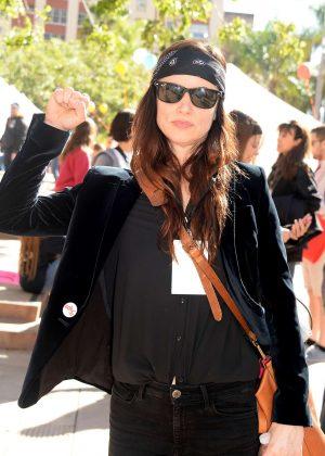 Juliette Lewis - Women's March on Los Angeles