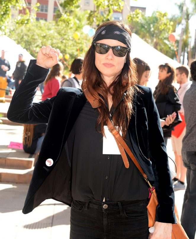 Juliette-Lewis:-Womens-March-on-Los-Ange