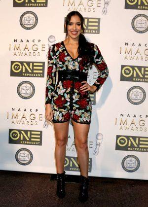 Julissa Bermudez - Non-Televised 48th NAACP Image Awards in Pasadena