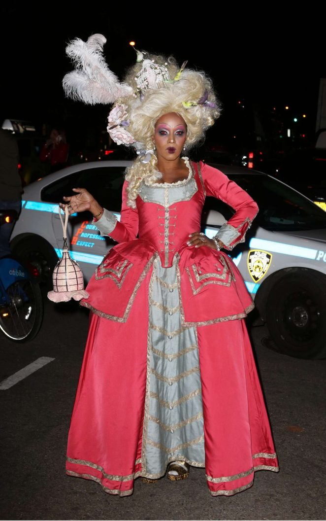 June Ambrose – Heidi Klum 17th Annual Halloween Party in NYC