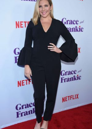 June Diane Raphael - 'Grace and Frankie' Season 3 Premiere in Los Angeles
