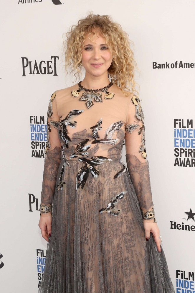 Juno Temple - 2016 Film Independent Spirit Awards in Santa Monica