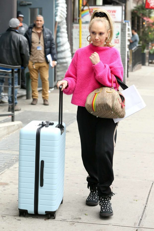 Juno Temple - Out in New York